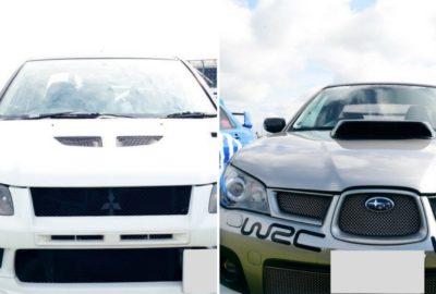 Japfest czyli Impreza WRX STI versus Lancer Evolution