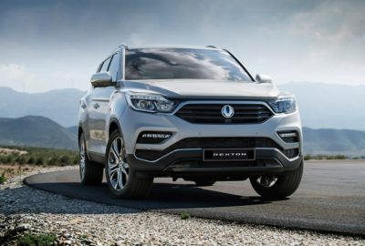 Nowy SsangYong Rexton (2017)