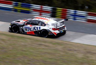 BMW M6 GT3 na torze Nurburgring