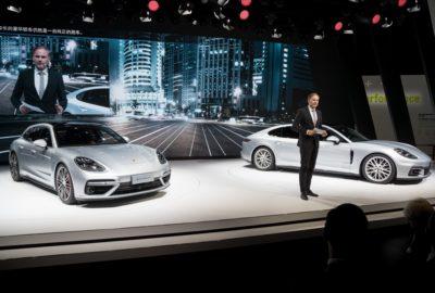 Debiut bazowej Porsche Panamery Executive w Szanghaju