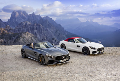 Mercedes-AMG GT Roadster FL i AMG GT C Roadster (2017)