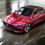 Mercedes Concept A Sedan (2017)