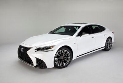 Nowy Lexus LS F SPORT (2018)