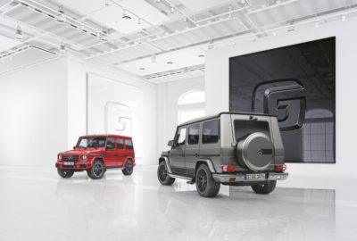 Mercedes Klasy G designo manufaktur Edition i Exclusive Edition