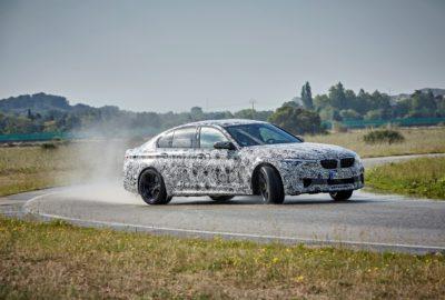 Nowe BMW M5 w maskowaniu