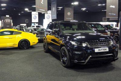 Pakiet modyfikacji Clive'a Suttona do Range Rovera