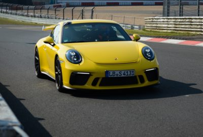 Porsche 911 GT3 bije swój rekord na Nurburgringu