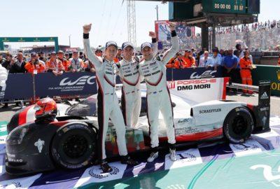 Zwycięstwo Porsche w tegorocznym wyścigu 24h Le Mans