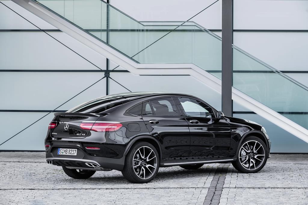 Recenzja Mercedesa-AMG GLC 43 Coupe (2017)