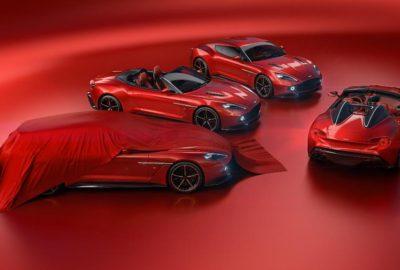 Aston Martin Vanquish Zagato - wszystkie warianty (2017)