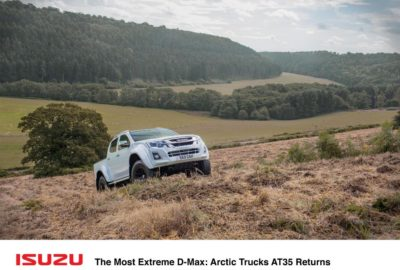 Isuzu D-Max Arctic Trucks AT35 (2017)