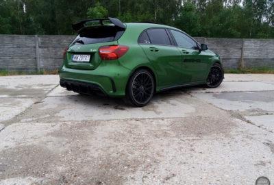 Recenzja wideo Mercedesa-AMG A 45 4MATIC