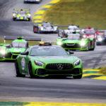 Mercedes-AMG GT R na torze Road Atlanta