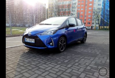 Recenzja Toyoty Yaris Hybrid Selection