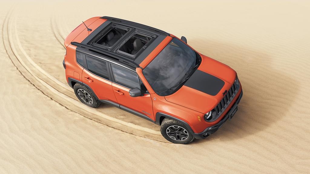 Jeep Renegade na rok modelowy 2018