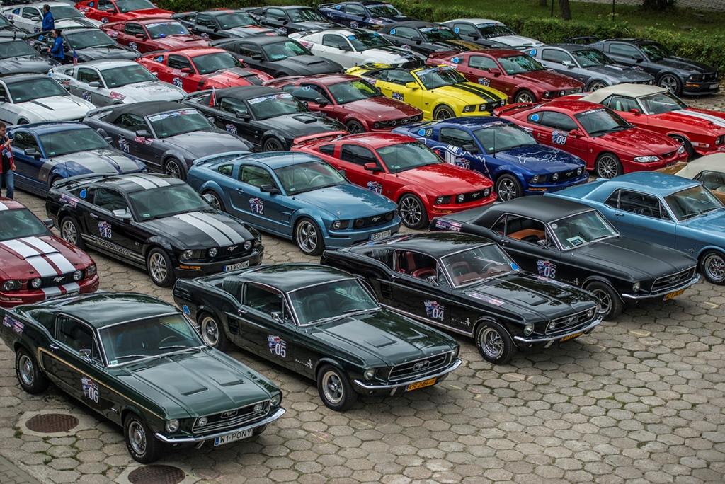 10. Ogólnopolski Zlot Fordów Mustangów w Warszawie
