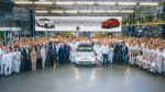 Fiat 500 z numerem 2 000 000 z fabryki w Tychach