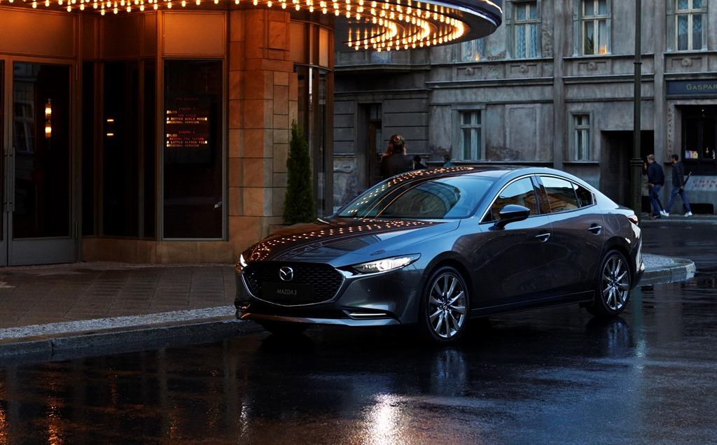 Nowa Mazda 3 Sedan (2019)