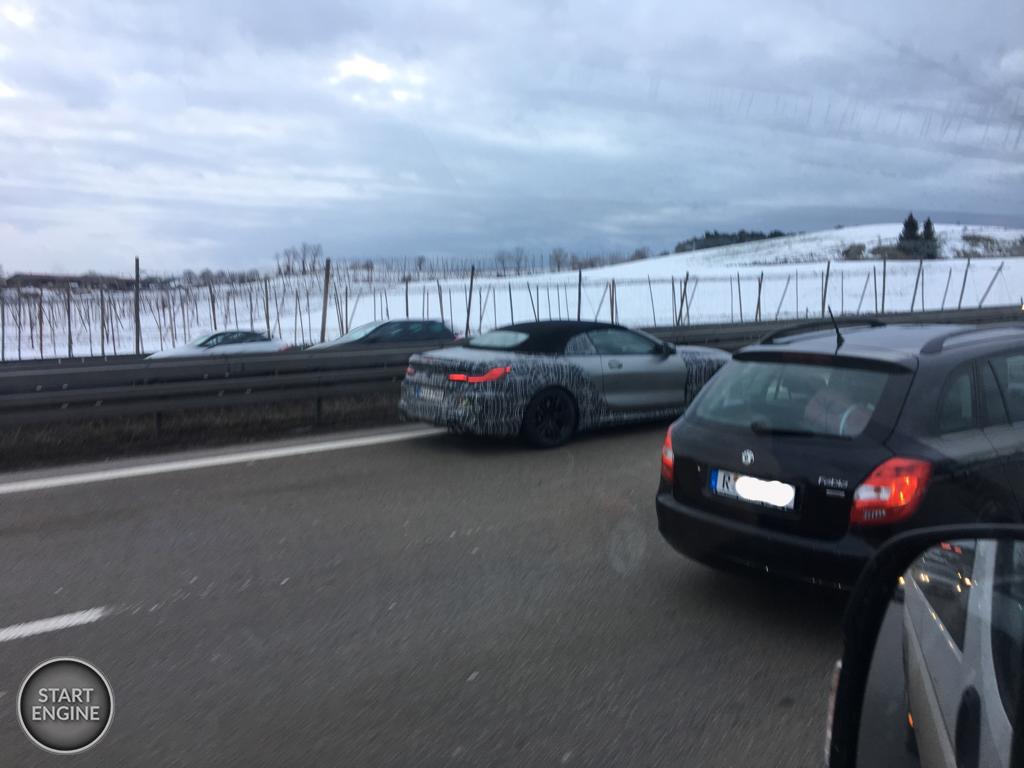 BMW M8 Convertible przyłapane