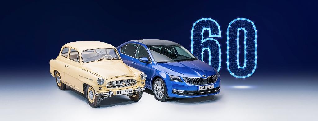 Škoda Octavia ma już 60 lat