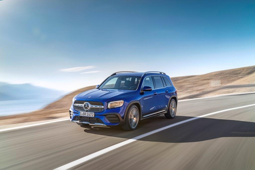 Nowy Mercedes-Benz GLB (2019)