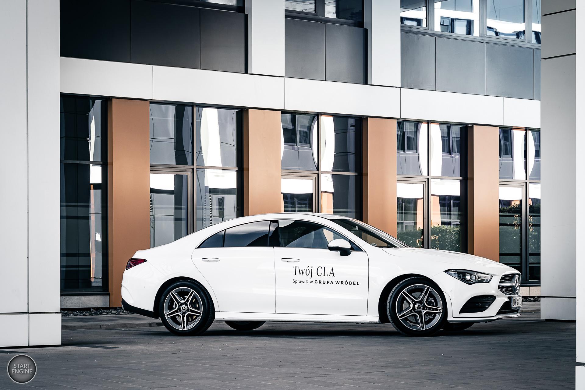 Nowy Mercedes-Benz CLA 220 4MATIC