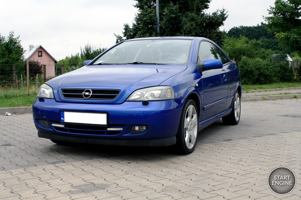 Opel Astra G Coupe by Bertone (2002)