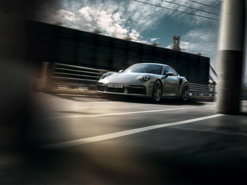Nowe Porsche 911 Turbo S (2020)