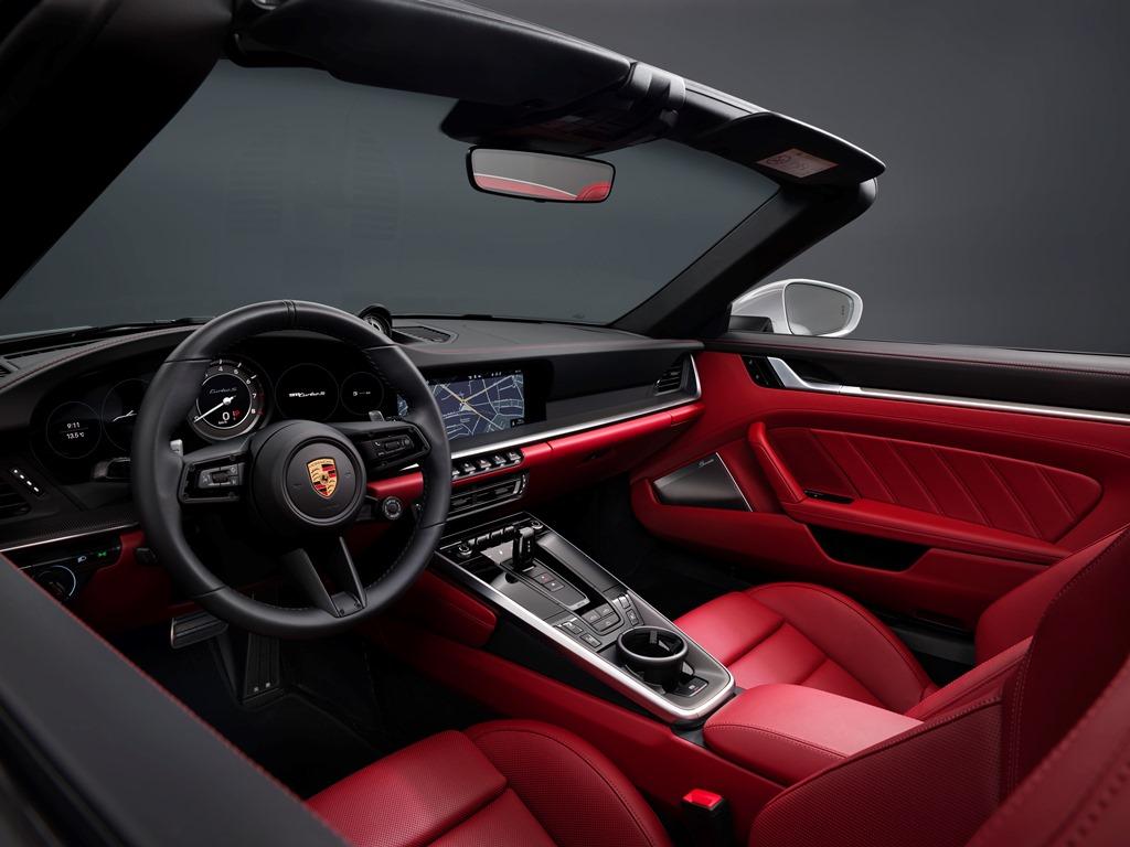 Nowe Porsche 911 Turbo S Cabriolet (2020)