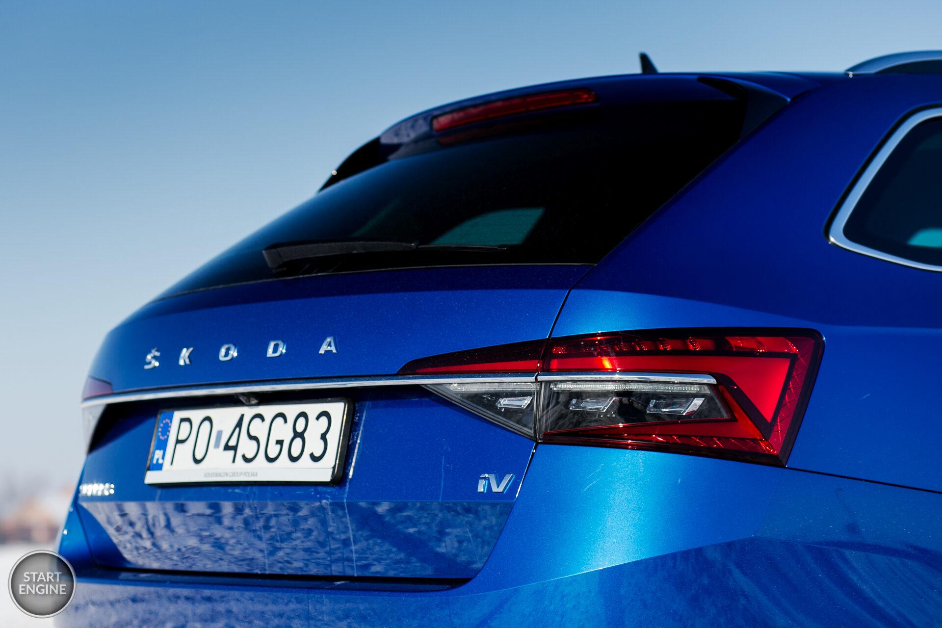 Škoda Superb iV Combi L&K
