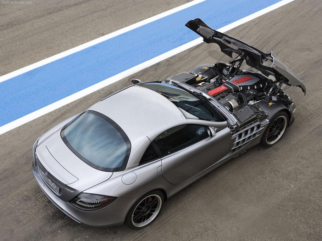 Mercedes-Benz SLR McLaren 722 Edition (2007)