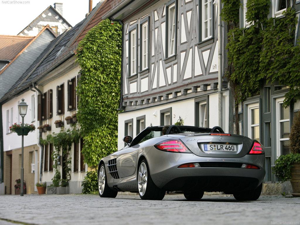 Mercedes-Benz SLR McLaren Roadster (2008)