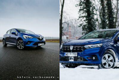 Porównanie Sandero i Clio